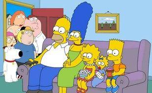 «Les Simpson» se sont invités le temps d'un épisode crossover  chez «Les Griffin»  en 2014