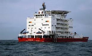 Un navire de la Brigade d'intervention rapide camerounaise en 2009 (illustration).