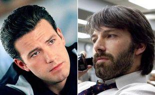 Ben Affleck dans les films «Gigli», en 2003 et «Argo», en 2012.