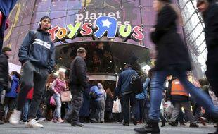 Le magasin Toys'R'Us de Times Square, à New York.