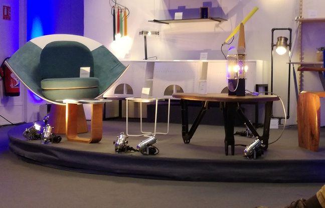 VIDEO. Toulouse: Vous rêviez d'une table hublot? Airbus se lance dans les meubles design