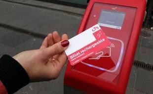 Strasbourg: Le billet sans contact rechargeable arrive en station