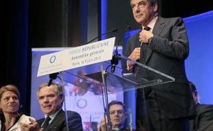 François Fillon à Paris, le 9 juin 2015
