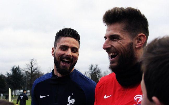 Le gardien des Girondins et son grand copain, Benoît Costil.