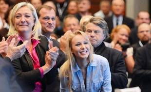 La famille Le Pen, en première ligne de ces élections régionales.