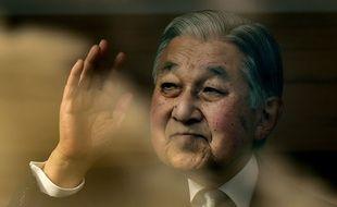 L'ancien empereur japonais Akihito le 2 janvier 2020.
