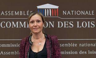 Yael Braun-Pivet, députée LREm et présidente de la commission des Lois.