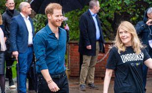 Le prince Harry aux studios Abbey Road en février 2020