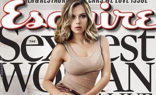 Scarlett Johansson, élue femme la plus sexy du monde en 2013 par Esquire Magazine.