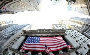 La bourse de New York, le 5 août 2011