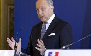 Le ministre français des Affaires étrangères Laurent Fabius, le 28 juillet 2014