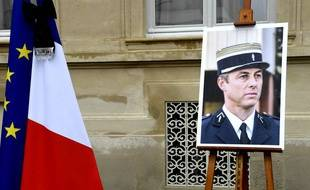 Hommage national à Arnaud Beltrame