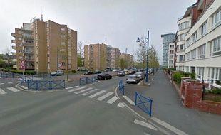Le boulevard de la Liberté à Douchy-les-Mines.