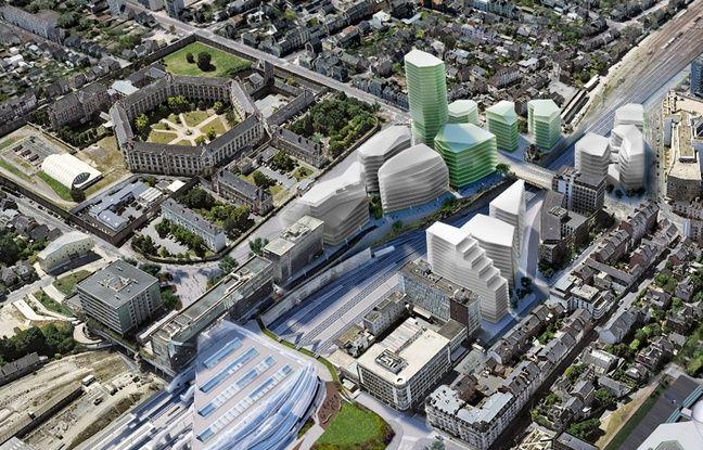 Rennes: Une tour de 26 étages va bientôt pousser en plein centre-ville