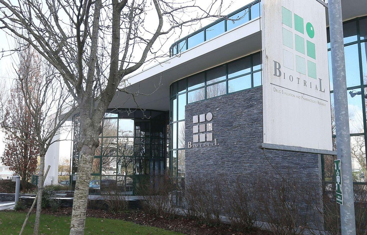Le laboratoire Biotrial, à Rennes. – D.Vincent/AP/SIPA