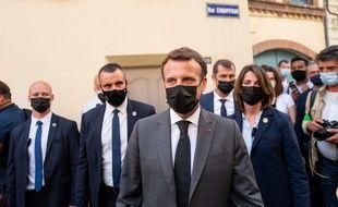 Emmanuel Macron à Valence le 8 juin 2021.