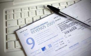 Illustration de la déclaration préremplie des impôts sur le revenu 2009.