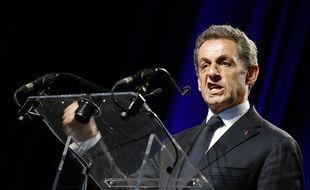 Nicolas Sarkozy à Rillieux-la-Pape, le 22 mai 2015.