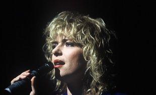 La chanteuse France Gall