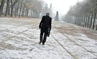 Le brouillard givrant, qui a recouvert l'agglo nantaise, avait de faux airs de neige hier.