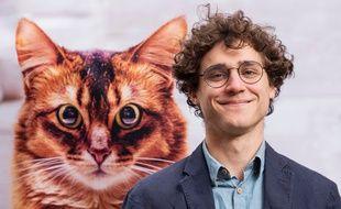 Quentin Charoy, tête de liste de «Toulouse animaliste» pour les municipales de mars 2020 à Toulouse.