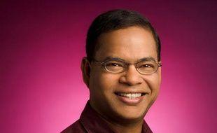 Amit Singhal, vice-président sénior et responsable de la recherche chez Google.