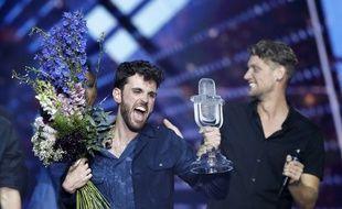 Le Néerlandais Duncan Laurence, vainqueur de l'Eurovision 2019 à Tel Aviv.