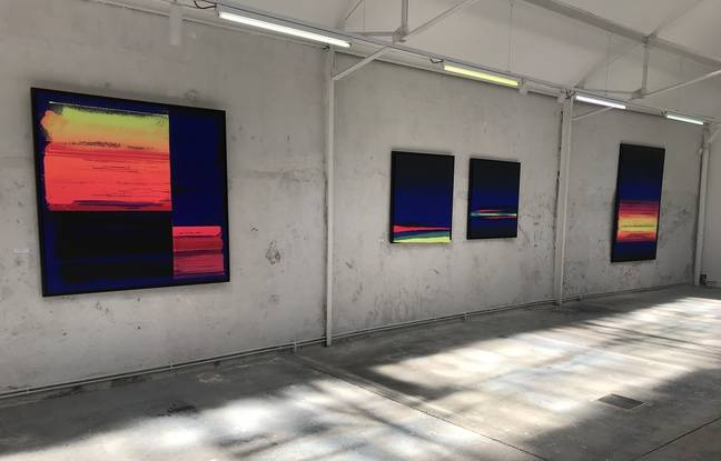 Marseille: Le street artiste Zest met la Méditerranée en couleurs à travers une exposition qui sent bon l'été