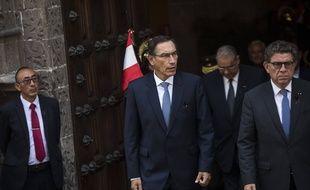 Le président du Pérou, Martin Vizcarra