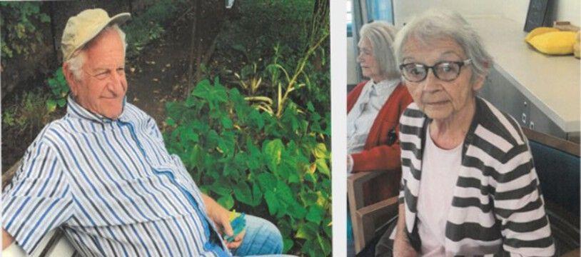 La police de Villefranche-sur-Saône lance un appel à témoins pour retrouver ce couple d'octogénaires disparu depuis le 16 février.