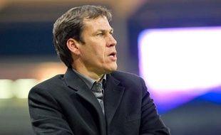 Rudi Garcia, l'entraîneur du Losc, à Toulouse, le 8 novembre 2011.