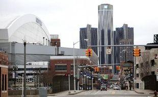 Le centre-ville de Detroit le 10 décembre 2014