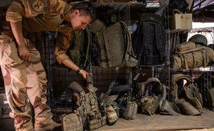 Un soldat français au Mali, le 22 avril 2019.