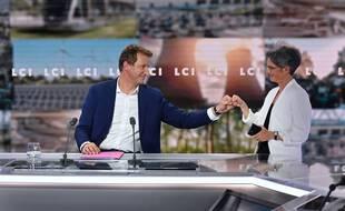 Débat entre Yannick Jadot et Sandrine Rousseau, le 23 septembre 2021, sur LCI.