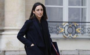 Brune Poirson, secrétaire d'Etat auprès du ministre de la transition écologique et solidaire, le 9 janvier à la sortie du palais de l'Elysée.