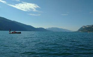 Lac du Bourget, en Savoie (photo d'illustration).