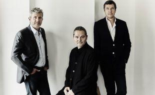 Roland Coutas, Bruno Barde et Frédéric Houzelle, les créateurs du site