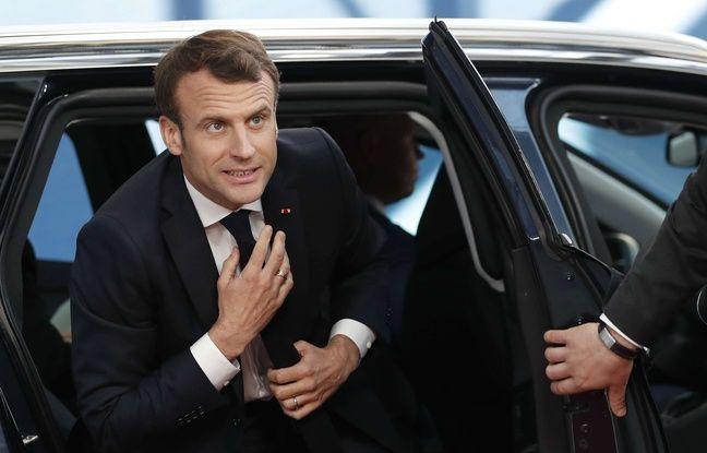 Emmanuel Macron: Petit bain de foule pour le président au Touquet