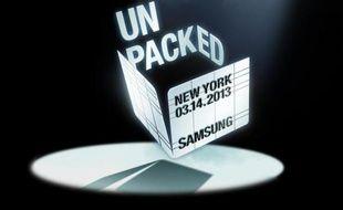 Samsung doit présenter son smartphone Galaxy S IV le 14 mars 2013, à New York.