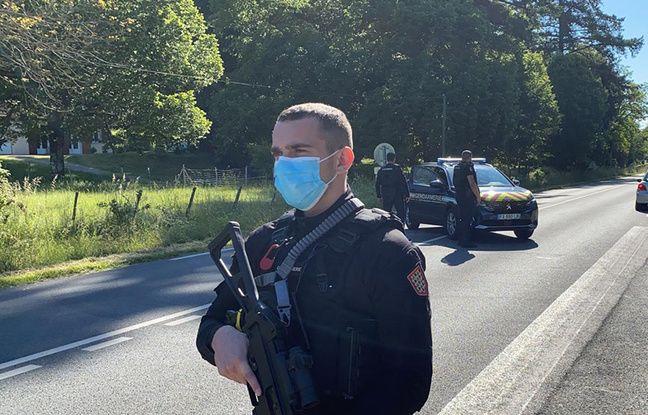 Plusieurs routes ont été coupées autour du Lardin-Saint-Lazare