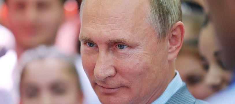 Vladimir Poutine, le 15 août 2018 à Pyatigorsk.