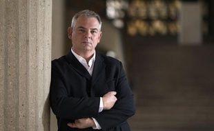 Le secrétaire général de la CGT, Thierry Lepaon, numéro un de la centrale syndicale, le 9 octobre 2012 à Paris