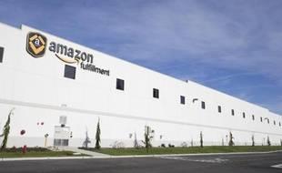 Des entrepôts d'Amazon à Washington le 13 février 2015