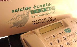 La permanence telephonique de «suicide ecoute» 24h sur 24h.