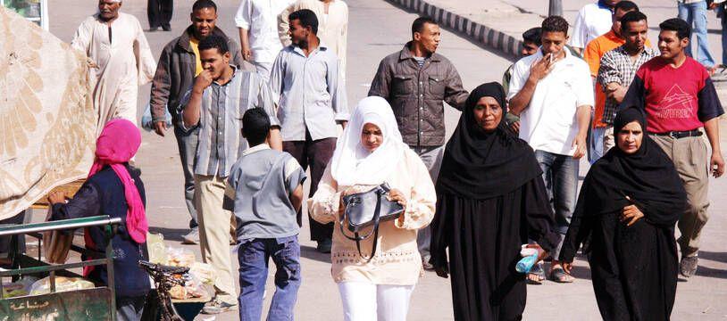 Des femmes à Louxor en Egypte (illustration).