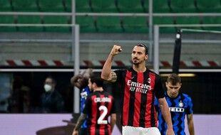 Ibra a dominé le derby milanais à lui tout seul samedi soir.