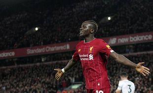 Le joueur de Liverpool Sadio Mané le 2 janvier 2020.