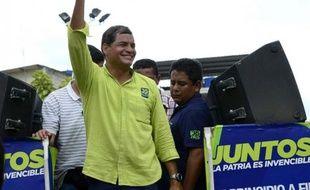 """Avec la renégociation des contrats pétroliers et de la dette extérieure, l'Equateur a connu une croissance record durant la """"révolution socialiste"""" de Rafael Correa, favori de la présidentielle de dimanche, mais ce modèle est fragilisé par une forte dépense publique et des investissements étrangers en berne."""