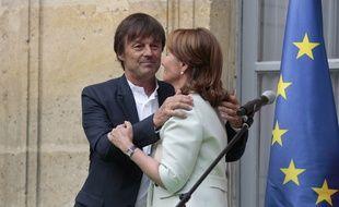 Ségolène Royal et Nicolas Hulot en mai 2017.