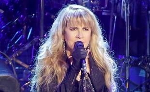 Stevie Nicks lors d'un concert de Fleetwood Mac au First Direct Arena de Leeds en 2015